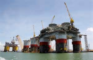 Oil platforms rise high to reach for the deep - Houston Chronicle